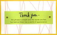 View the Duin's Thank You card.